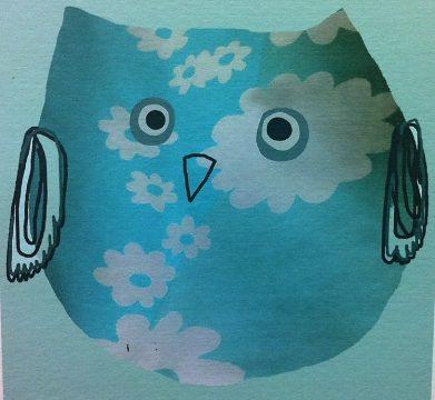 Onnenlintu-sininenkukka