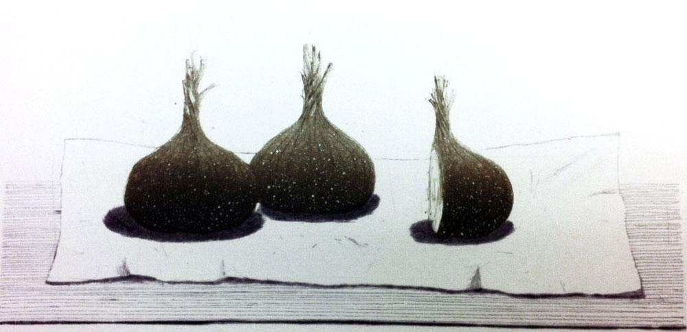 Värilliset sipulit